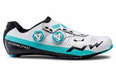 Chaussures route northwave extreme pro blanc bleu 46