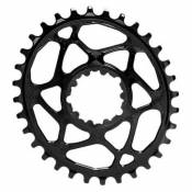Absolute Black Oval Sram Direct Mount Gxp 6 Mm Offset 28t Black