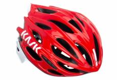 Casque kask mojito x rouge blanc l 59 62 cm