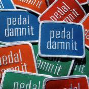 Niner Pedal Damn It Patch One Size Green