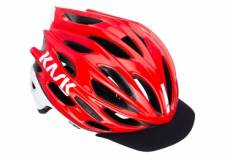 Casque kask mojito x peak rouge blanc m 52 58 cm