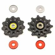 Campagnolo Super Record 11s Pair One Size Black