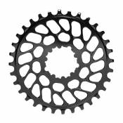 Absolute Black Plateau Round Sram Direct Mount Bb30 0 Mm Offset 30t Black