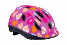 Casque bbb boogy heart rose m 52 56 cm