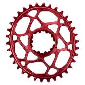 Absolute Black Plateau Oval Sram Direct Mount Gxp 6 Mm Offset 30t Red