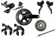 Groupe complet shimano dura ace r9100 11v 172 5mm 52 36 dents 11 25
