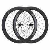Black Inc Paire Roues Route Sixty Ceramicspeed All-road Shimano Disc 12 x 100 / 12 x 142 mm Black