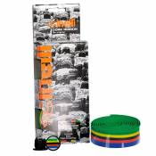 Cinelli Cork World Champion Ribbon Bar Tape One Size Multicolour