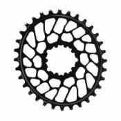 Absolute Black Plateau Oval Sram Direct Mount Bb30 0 Mm Offset 34t Black
