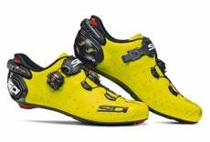 Chaussures route sidi wire 2 carbon jaune fluo 42