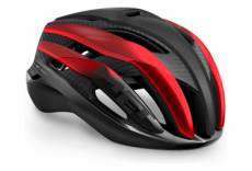 Casque route met trenta 3k carbon mat brillant metallique noir rouge 2021 s 52 56 cm