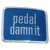 Niner Pedal Damn It Patch One Size Blue