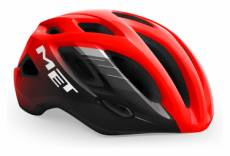 Casque route met idolo glossy rouge noir 2021 xl 60 64 cm