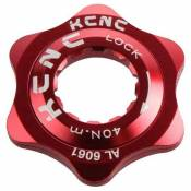 Kcnc Center Lock Adaptor Al6061 One Size Red