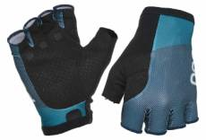 Paire de gants courts poc essential road light bleu antimony bleu draconis l