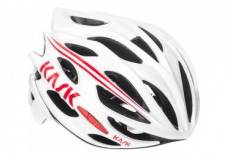 Casque kask mojito blanc rouge m 52 58 cm