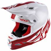 Fly Racing Casque Motocross F2 Mips Shield 2020 XL White / Red