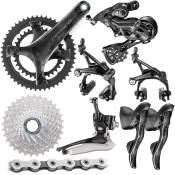 Groupe Campagnolo Record (12 vitesses) - 172.5mmx36/52-11/32t Noir