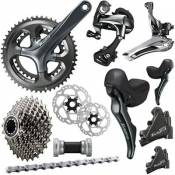 Shimano Tiagra 4720 10 Speed Groupset - Disc - Noir - 11-32t