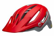 casque all mountain bell sixer mips rouge gris s 52 56 cm