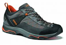Chaussures de randonnee asolo pipe gv gore tex gris orange homme 43 2 3