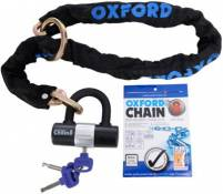 Antivol Oxford Chain 8 - Noir - Sold Secure Silver Rated