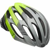 Casque de route Bell Stratus - M Gray/Blk/Green MY19 | Casques