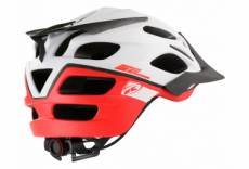 Casque kenny enduro s2 white red l 59 60 cm