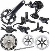 Shimano XT M8100 1x12 Speed Groupset - Noir - 10-51