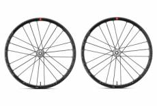 Paire de roues fulcrum racing zero disc 12x100 12x142 mm centerlock shimano sram