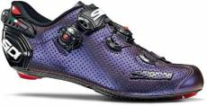 Sidi Wire 2 Carbon Air Road Shoes LT Ed 2020 - Blue-Red Iridescent - EU 43.5