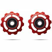Galets CeramicSpeed Ceramic - Campagnolo 11s Road Rouge   Galets