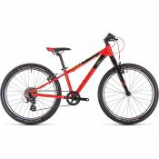 Cube Acid 240 SL Kids Bike 2020 - Red - Green - Black - 24\