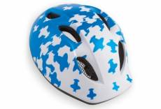 Casque enfant met super buddy avion blanc bleu m 52 57 cm