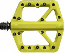 Pédales Crank Brothers Stamp 1 - Citron - Small