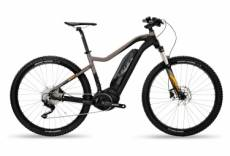 Vtt semi rigide electrique bh rebel 27 5 shimano deore xt 10v noir orange 2019 m 164 177 cm