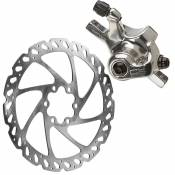 Freins à disque VTT Hayes CX Expert + rotor 160mm - Argent - Front or Rear, Argent