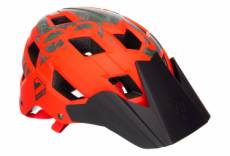 Casque vtt seven m5 50 01 orange camo 2019 s m 54 58 cm