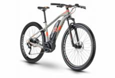 Vtt electrique semi rigide r raymon hardray e nine 5 0 shimano altus 9v gris orange 2020 50 cm 176 187 cm