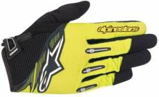 Gants Alpinestars Flow 2016 - Bright Green Black - XXXL
