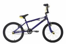 Bmx freestyle 20 hedonic bleu jaune ks cycling 6 9