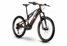 Vtt electrique tout suspendu r raymon fullray e nine 8 0 sram nx eagle 12v noir orange 2020 48 cm 177 187 cm
