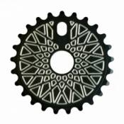Couronne federal bbs solid black with silver machinery