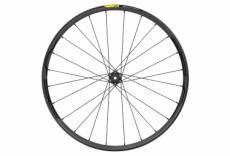 Roue avant 2020 mavic xa elite carbon 27 5 15 9x100 mm 6 trous noir