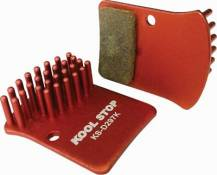 Plaquettes de freins à disque Kool Stop Sram Red (route) - Organic - Steel backed