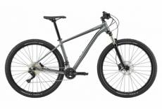 Vtt semi rigide cannondale trail 4 29 shimano 2x10v charcoal gray 2020 xl 182 195 cm