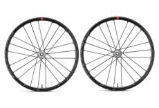 Paire de roues fulcrum racing zero disc tubeless 15 12x100mm 12x142mm corps campagnolo