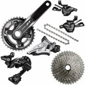 Groupe complet Shimano XT 2x11 Vitesses