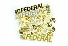 Pack de stickers federal 39 pieces
