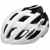 Casque route dhb R2.0 - White Black Gloss